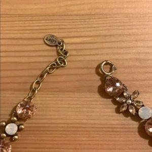 LOFT Jewelry - floral jewel statement necklace